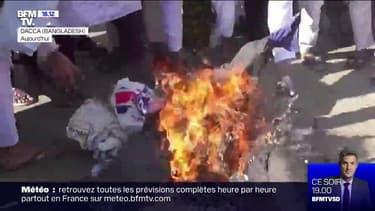 Une vague de contestation anti-française, notamment au Bangladesh et au Pakistan