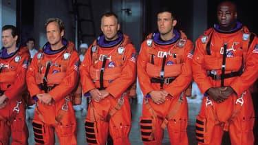 """Armageddon"", emmené par Bruce Willis, Ben Aflleck et Liv Tyler, est sorti en 1998."