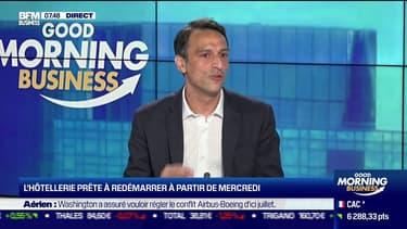 La clientèle business va continuer les déplacements pro, confie Karim Malak le directeur général d'Adagio