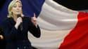 Marine Le Pen progresse fortement à la veille du congrès du Front national avec 16,5% d'intentions de vote pour la présidentielle de 2012, contre 12% en novembre, selon un sondage Ifop. /Photo prise le 19 décembre 2010/REUTERS/Pascal Rossignol