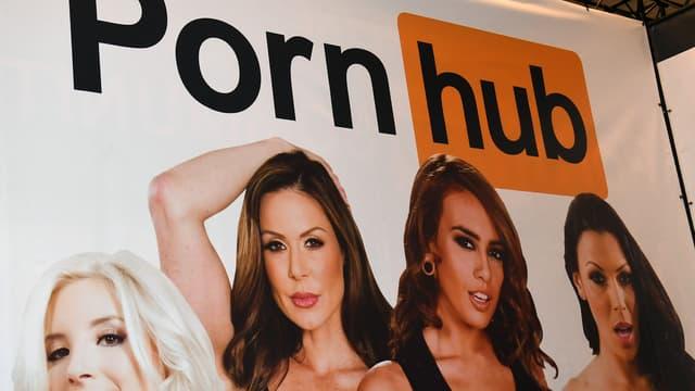 Un stand Pornhub à l'AVN Adult Entertainment Expo (Las Vegas), en 2017