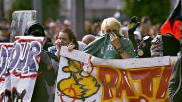 Des étudiants manifestant à Nantes le 12 septembre dernier