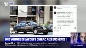 Une ancienne voiture de Jacques Chirac vendue 84.000 euros aux enchères