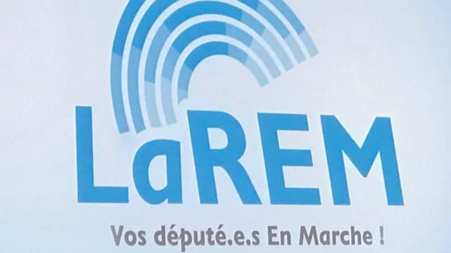 Le nouveau logo de La République en marche.