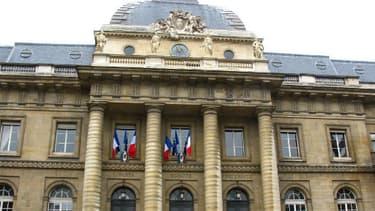 Le Palais de justice de Paris.