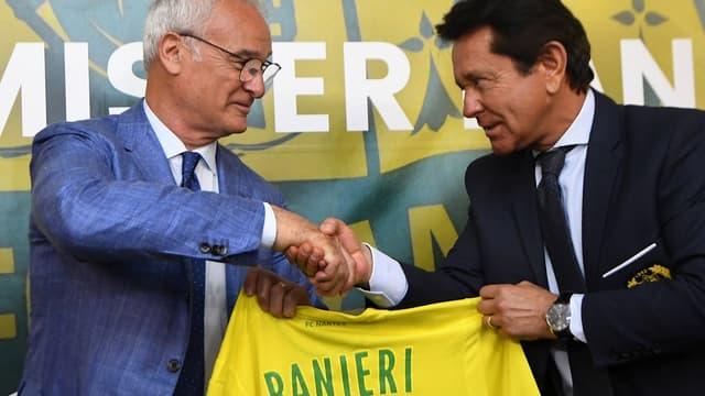 Claudio Ranieri et Waldemar Kita