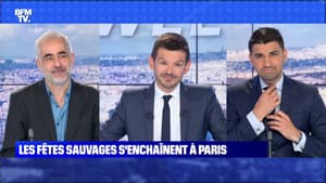 Les fêtes sauvages s'enchaînent à Paris - 13/06