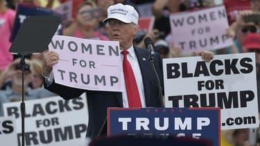 Donald Trump lors d'un meeting à Lakeland, en Floride, le 12 octobre 2016