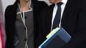 """La ministre de l'Ecologie et des Transports, Nathalie Kosciusko-Morizet, et le ministre chargé des Transports, Thierry Mariani, à l'issue du conseil des ministres lors duquel Nicolas Sarkozy a demandé au gouvernement de prendre """"toutes les mesures nécessa"""