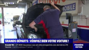 Départs en vacances: les automobilistes font vérifier l'état de leur véhicule avant de prendre la route