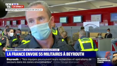 """La France envoie """"55 sapeurs-sauveteurs"""" et plusieurs tonnes de matériel à Beyrouth dès ce mercredi"""