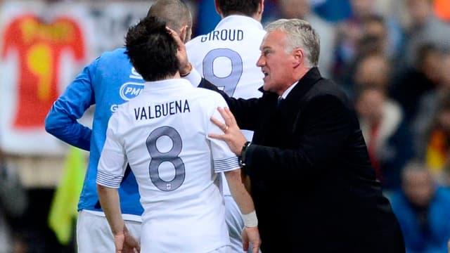 Deschamps, Giroud, Valbuena