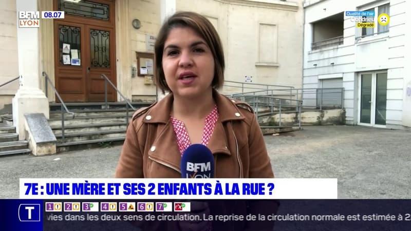 Lyon: mobilisation pour éviter qu'une mère et ses deux enfants dorment à la rue