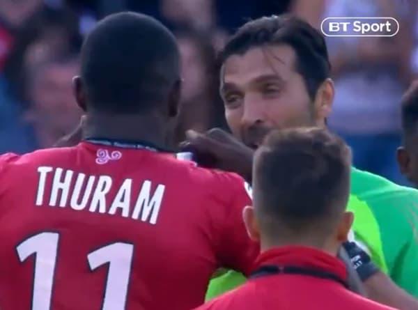 Thuram et Buffon