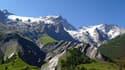 Le Glacier De La Meije vu de La Grave