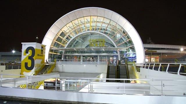 Le centre commercial de Créteil-Soleil