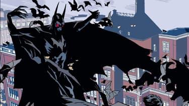 Batman Créature de la Nuit, dessiné par John Paul Leon
