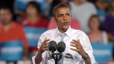 """Barack Obama a appelé dimanche à prendre l'ouragan """"très au sérieux"""""""