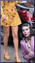 Le look à copier de la semaine : la robe jaune de Taylor Swift