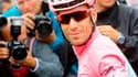 Vincenzo Nibali en rose à Turin,, théâtre de la dernière étape du Giro (Astana).