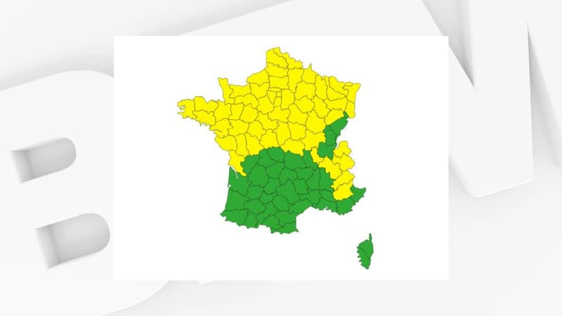 Les Hautes-Alpes et les Alpes-de-Haute-Provence placées en vigilance jaune pour risque d'avalanches
