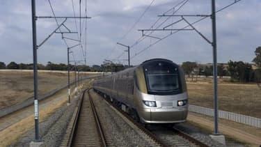 Image d'illustration d'un train à grande vitesse le 24 juin 2011