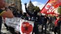 Une mobilisation réduite de moitié par rapport aux deux premières manifestations.