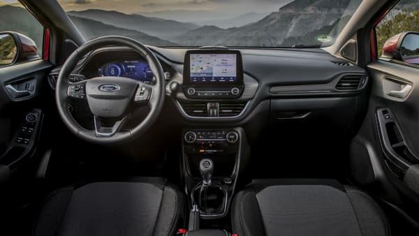 L'intérieur du Ford Puma (ici en finition Titanium)