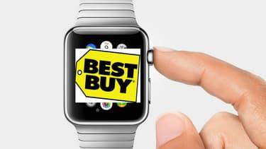 Apple va distribuer sa montre dans les magasins Best Buy aux Etats-Unis, l'équivalent des Darty et Boulanger en France