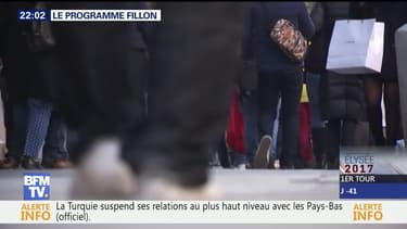 François Fillon dévoile son programme économique
