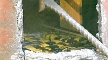1195 kilogrammes de cocaïne ont été saisi au port de Santos au Brésil, le 17 septembre 2018.