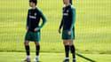 João Félix  et Cristiano Ronaldo