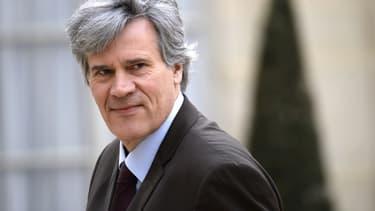 Stéphane Le Foll, le 14 avril 2014 à l'Elysée à Paris.