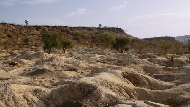 Une mine d'or au sud de Kongoussi, au Burkina Faso. (Photo d'illustration)