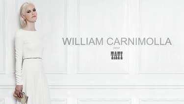 William Carnimolla a réalisé pour Tati une collection de huit robes de mariée dont les prix vont de 299 à 999 euros.