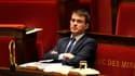Manuel Valls mardi à l'Assemblée, après sa présentation du plan d'économies de 50 milliards d'euros.