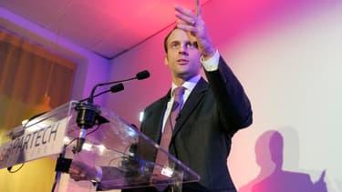 Emmanuel Macron a exprimé le souhait de voir des jeunes Français devenir milliardaires.