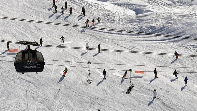 Les Français aiment skier avec des équipements français.
