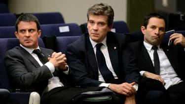 Dans un sondage Harris Interactive pour France Televisions, Manuel Valls arrive en tête au premier tour de la primaire à gauche, Arnaud Montebourg et Benoît Hamon sont au coude-à-coude.
