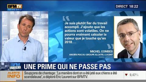 Michel Combes quitte Alcatel avec la bagatelle de 13,7 millions d'euros