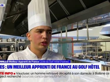 Un Varois nommé meilleur apprenti de France en cuisine