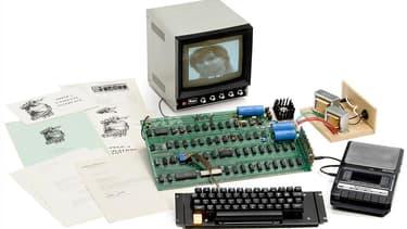 Cet Apple I est l'un des derniers au monde qui fonctionne encore. Il sera vendu aux enchères à Cologne le 20 mai prochain.