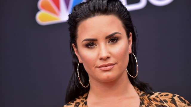 Demi Lovato à Las Vegas en mai 2018