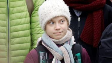 Greta Thunberg en février 2020 en Allemagne