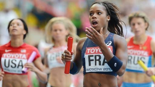 Le sprint de Stella Akakpo a permis aux Françaises de croquer leurs adversaires.