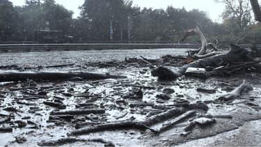 D'importantes coulées de boue ont touché la ville de Montecito, en Californie.