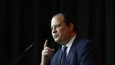Jean-Christophe Cambadélis, premier secrétaire du PS, le 11 avril 2015