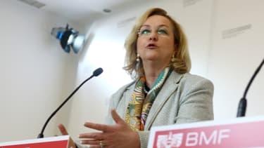 Maria Fekter, la ministre autrichienne des Finances.