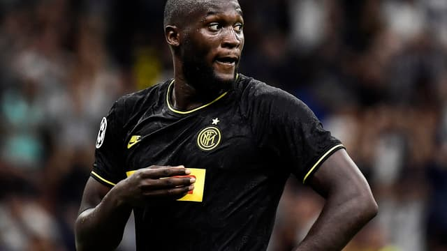 Romelu Lukaku est aligné à la pointe de l'Inter