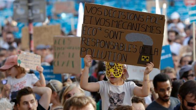 Marche pour le climat à Paris, le 13 octobre 2018
